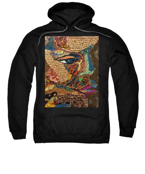 Nina Simone Fragmented- Mississippi Goddamn Sweatshirt