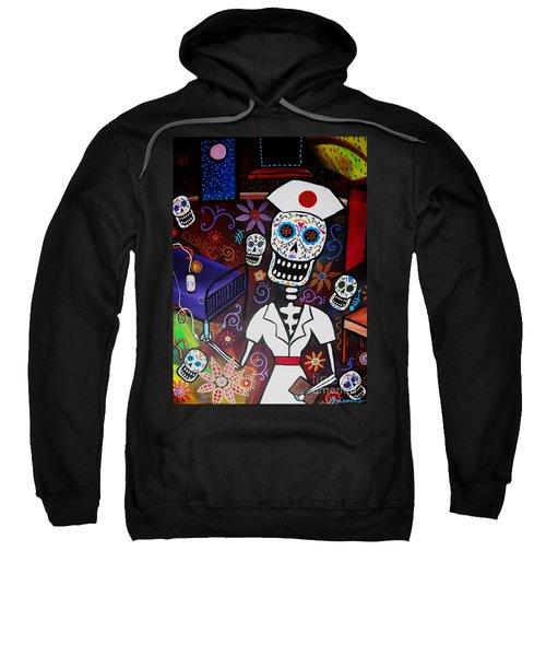 Nurse Dia De Los Muertos  Sweatshirt