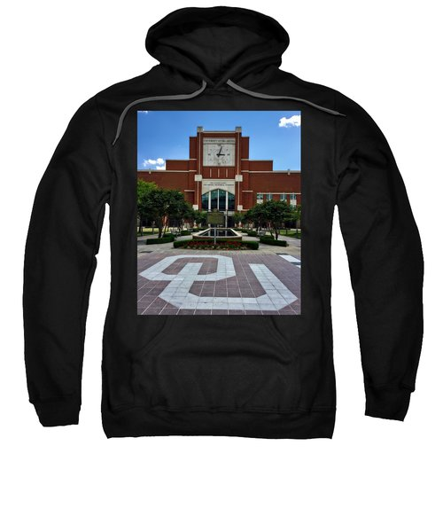 Oklahoma Memorial Stadium Sweatshirt by Center For Teaching Excellence