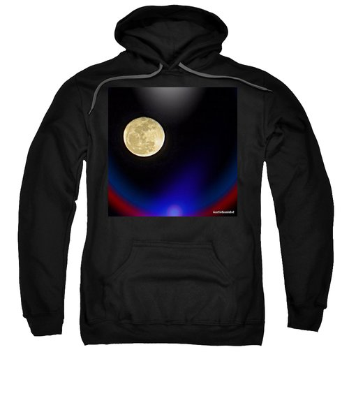 Photoshopping Tonight's #moon. Wish Sweatshirt