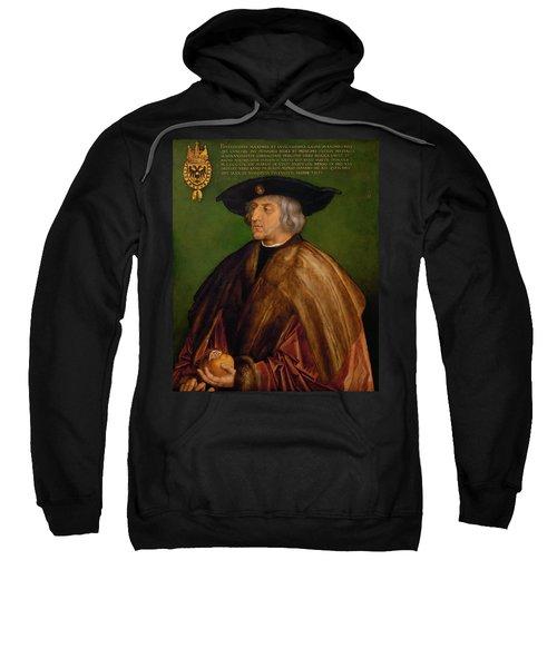 Portrait Of Maximilian I Sweatshirt