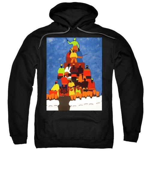Pyramid Of African Drummers Sweatshirt