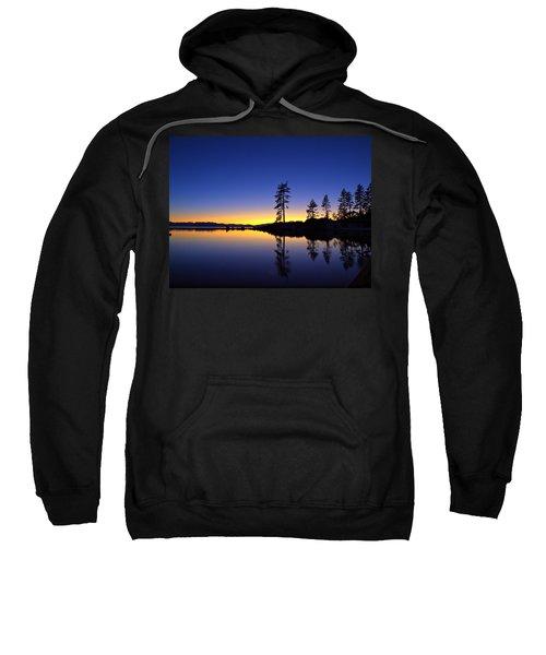 Sand Harbor Sunset Sweatshirt