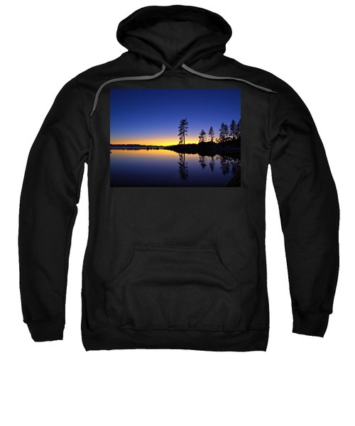 Sand Harbor Sunset Sweatshirt