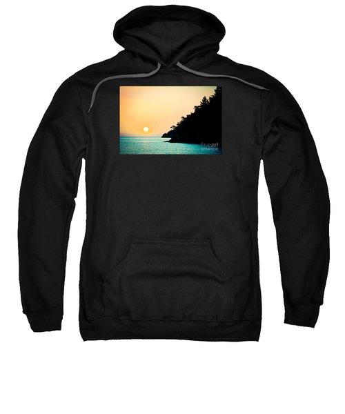 Seascape Sunrise Sea And Sun Sweatshirt