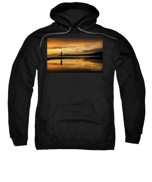 Silhouette In Sunset Sweatshirt