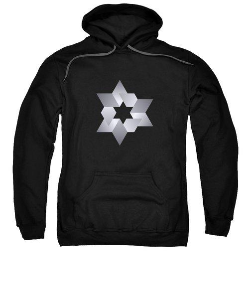 Star From Cubes Sweatshirt