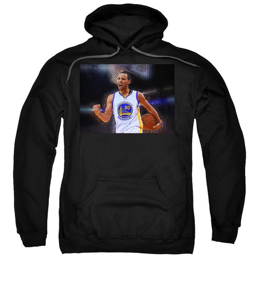 Stephen Curry Sweatshirt by Semih Yurdabak