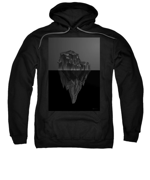 The Black Iceberg Sweatshirt by Serge Averbukh