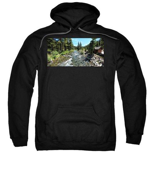 Truckee River In Tahoe City Sweatshirt