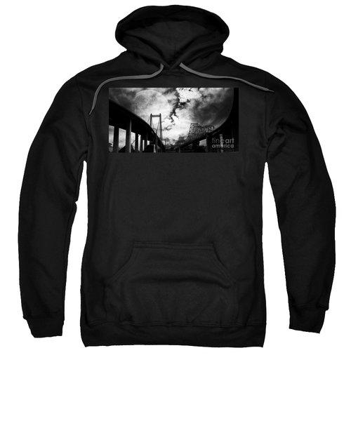 Two Bridges One Moon Sweatshirt