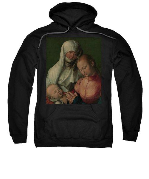 Virgin And Child With Saint Anne Sweatshirt