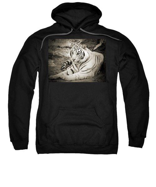 White Tiger Sweatshirt