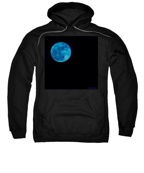 Yes, Once In A #bluemoon! Sweatshirt