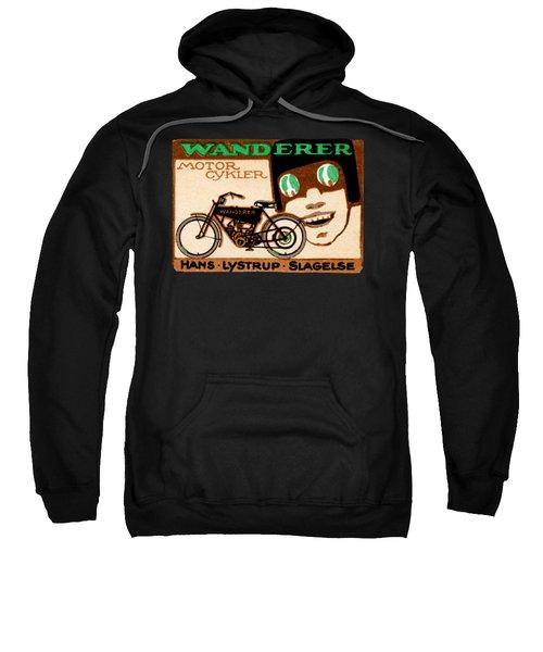 1910 Wanderer Motorcycle Sweatshirt