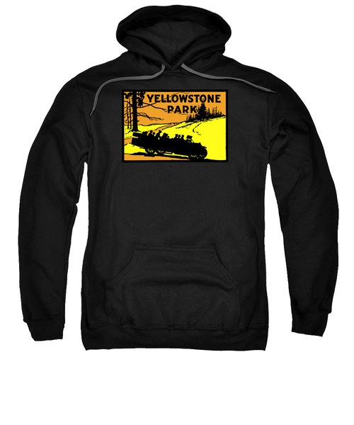 1920 Yellowstone Park Sweatshirt by Historic Image