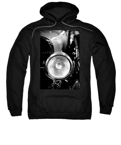 1925 Lincoln Town Car Headlight Sweatshirt