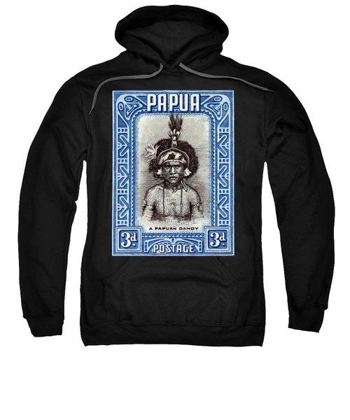 1932 Papuan Dandy Stamp Sweatshirt