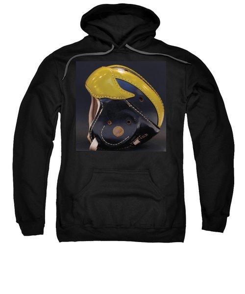 1940s Leather Wolverine Helmet Sweatshirt
