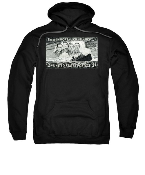 1948 Immortal Chaplains Stamp Sweatshirt