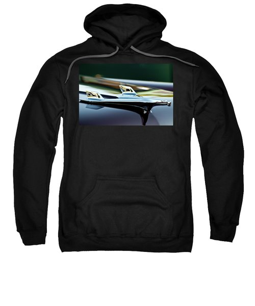 1956 Chevy Belair Hood Ornament Flying 1 Sweatshirt