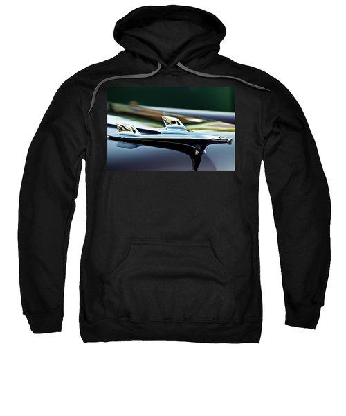 1956 Chevy Belair Hood Ornament Flying 1 Sweatshirt