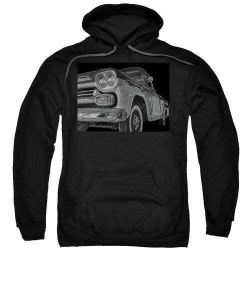 1959 Chevrolet Apache - Bw Sweatshirt