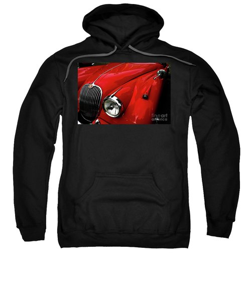Red Jaguar Sweatshirt