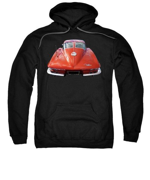 1963 Corvette Stingray Split Window Rear Sweatshirt