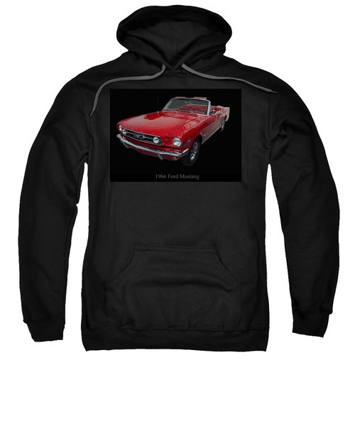 1966 Ford Mustang Convertible Sweatshirt