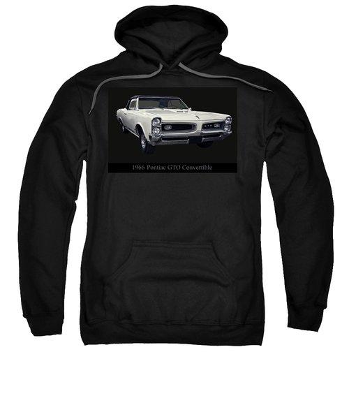 1966 Pontiac Gto Convertible Sweatshirt