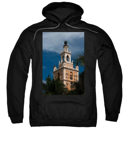 Coral Gables Biltmore Hotel Tower Sweatshirt