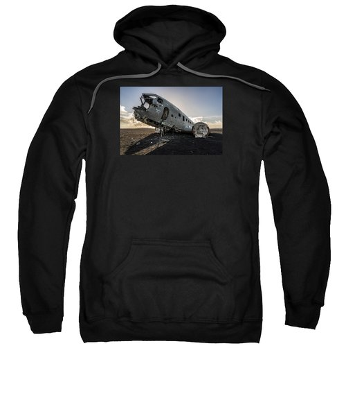 Crashed Dc-3 Sweatshirt