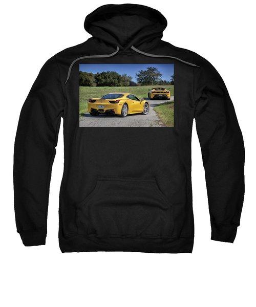 #ferrari #458italia #print Sweatshirt