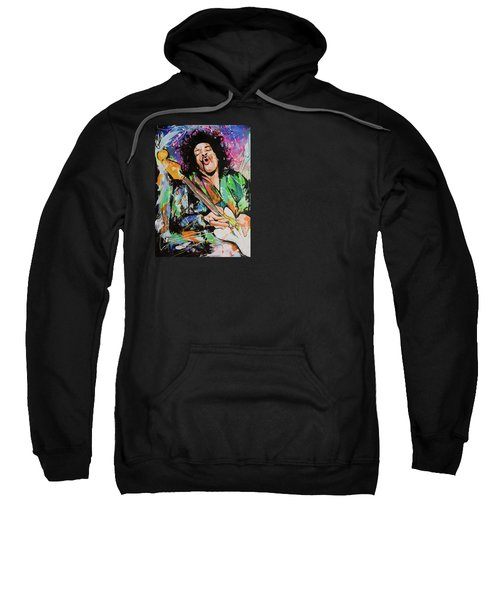 Jimi Hendrix Sweatshirt by Richard Day