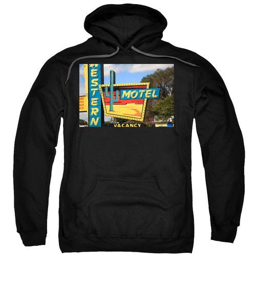 Route 66 - Western Motel Sweatshirt