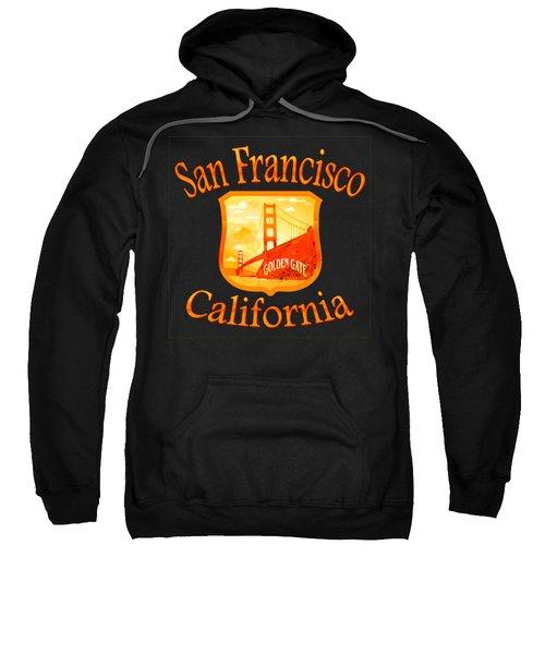 San Francisco California Golden Gate Design Sweatshirt