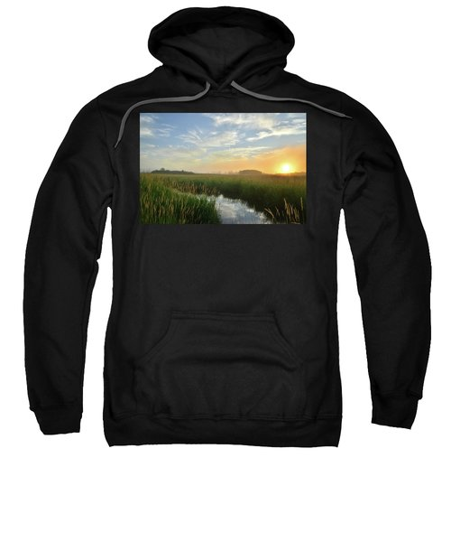 Sunrise At Glacial Park Sweatshirt