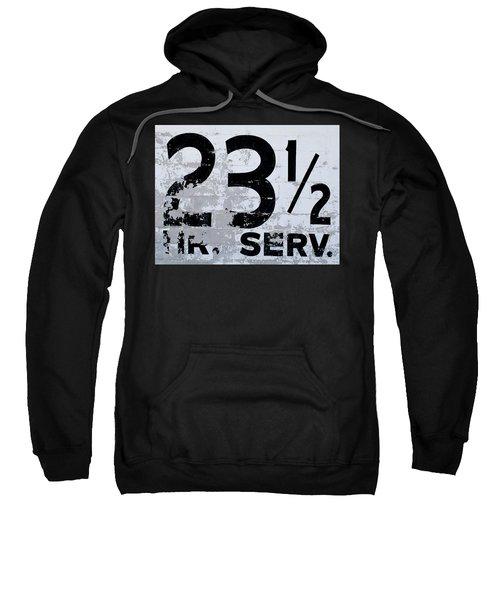 23 1/2 Hour Service Sweatshirt