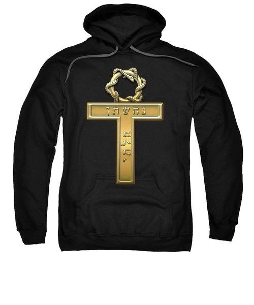 25th Degree Mason - Knight Of The Brazen Serpent Masonic Jewel  Sweatshirt