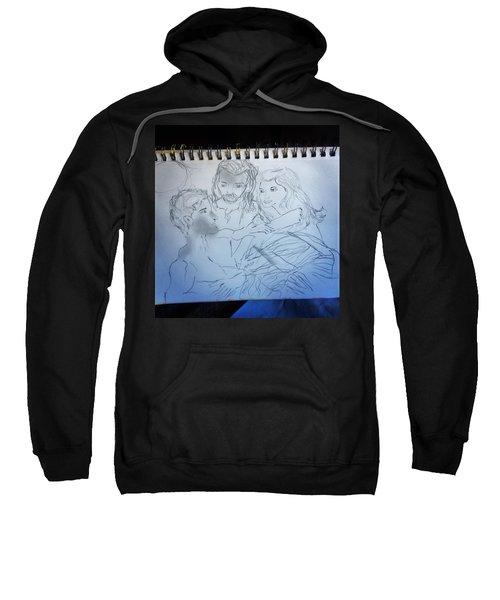 Adam Andeve The Creation Story Sweatshirt