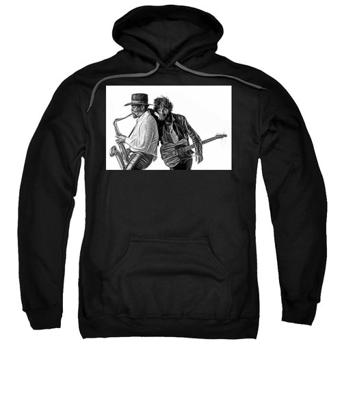 Bruce Springsteen Clarence Clemons Collection Sweatshirt