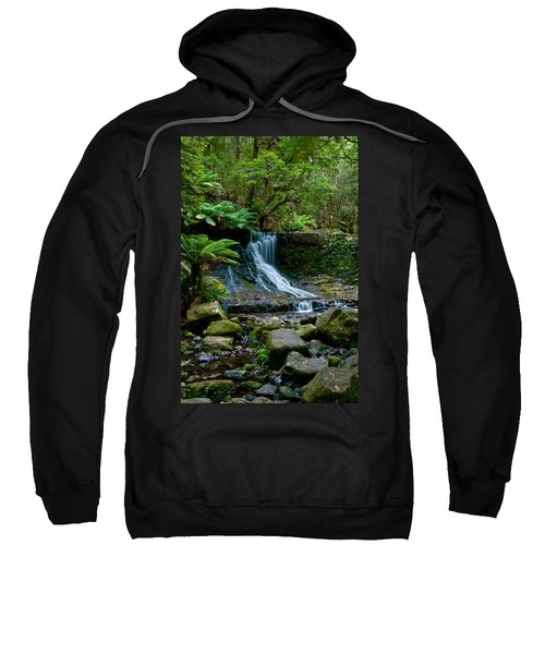 Waterfall In Deep Forest Sweatshirt