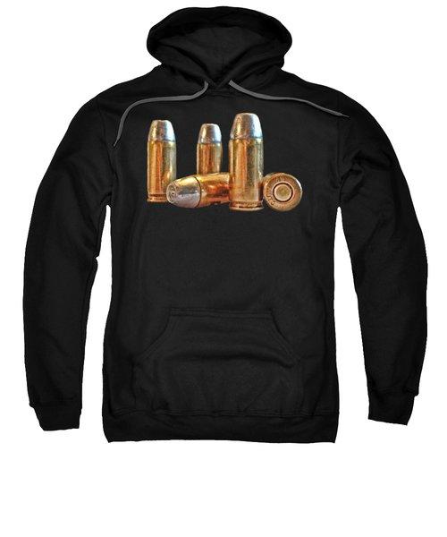 32 Caliber Bullet Print Sweatshirt