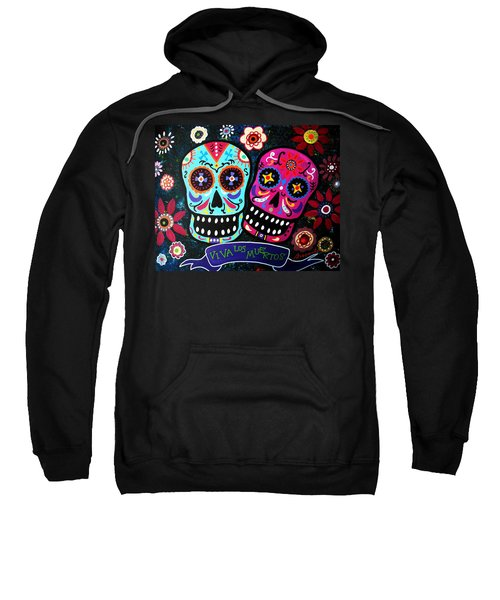 Couple Day Of The Dead Sweatshirt