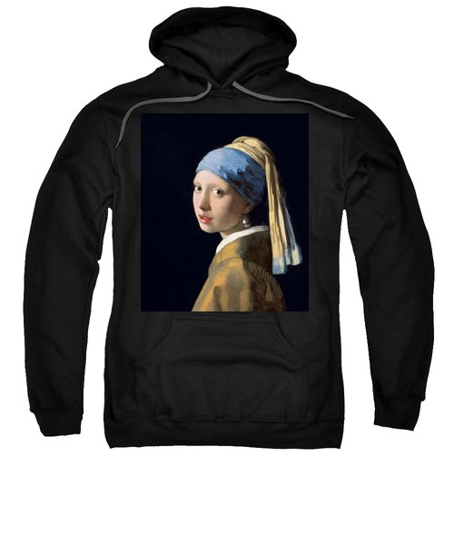 Girl With A Pearl Earring Sweatshirt