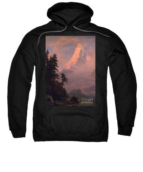 Sunrise On The Matterhorn Sweatshirt