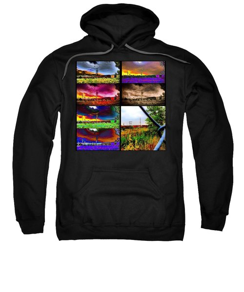 Urban Mobile Art Installation Sweatshirt