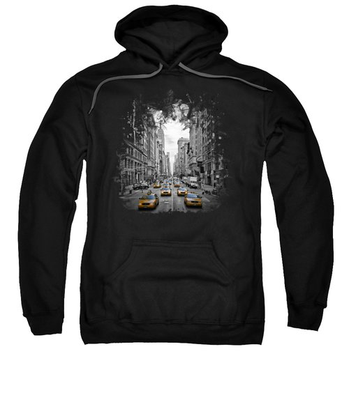 5th Avenue Nyc Traffic II Sweatshirt