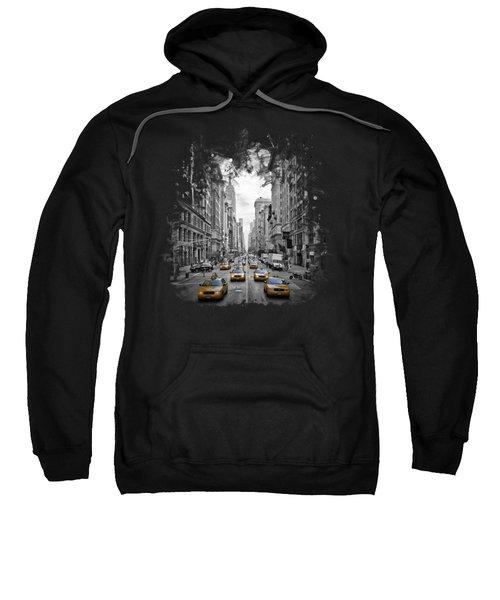 5th Avenue Nyc Traffic II Sweatshirt